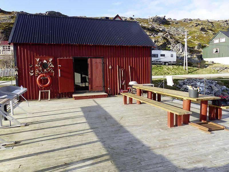 Angelreisen Norwegen 44001-44010 Havøysund Sjøhus Bootshaus