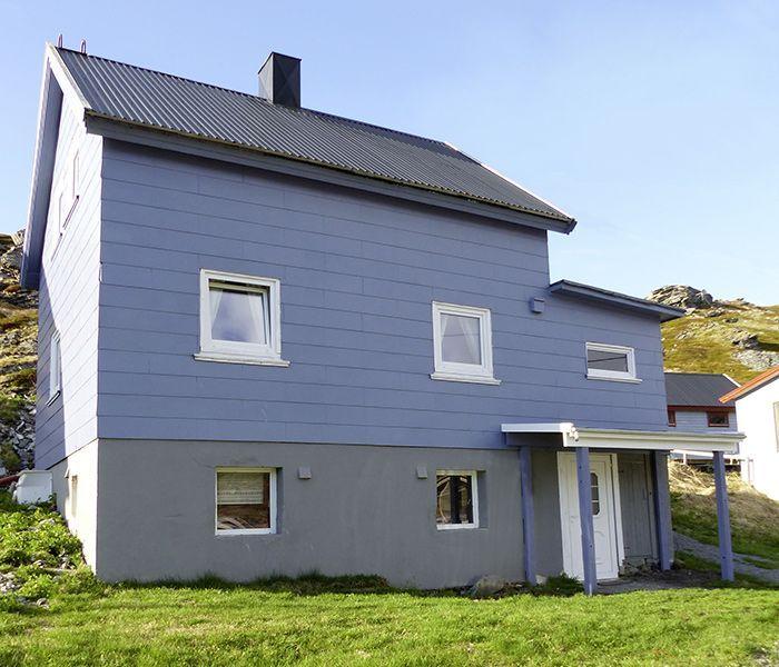 Angelreisen Norwegen 44002 Havøysund Sjøhus Ansicht
