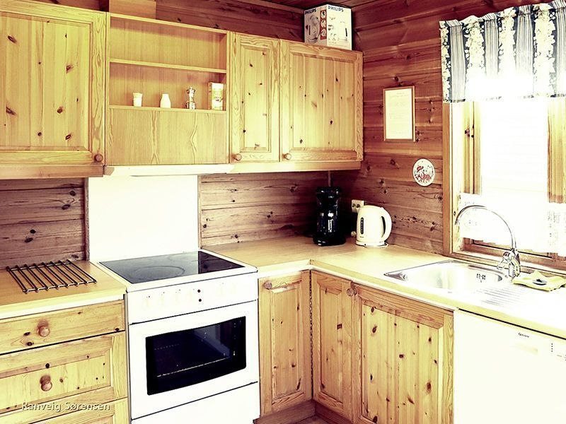 Angelreisen Norwegen 40531-40533 Solvåg Fjordferie Küche