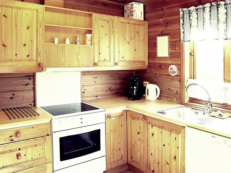 Angelreisen Norwegen 40531-533 Solvåg Fjordferie Küche
