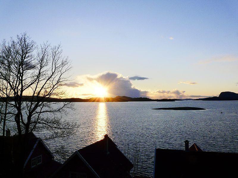 Angelreisen Norwegen 40531-40555 Solvåg Fjordferie Abendstimmung