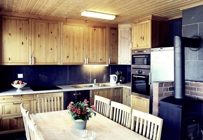 Angelreisen Norwegen 40542-546 Solvåg Fjordferie Küche+Essen