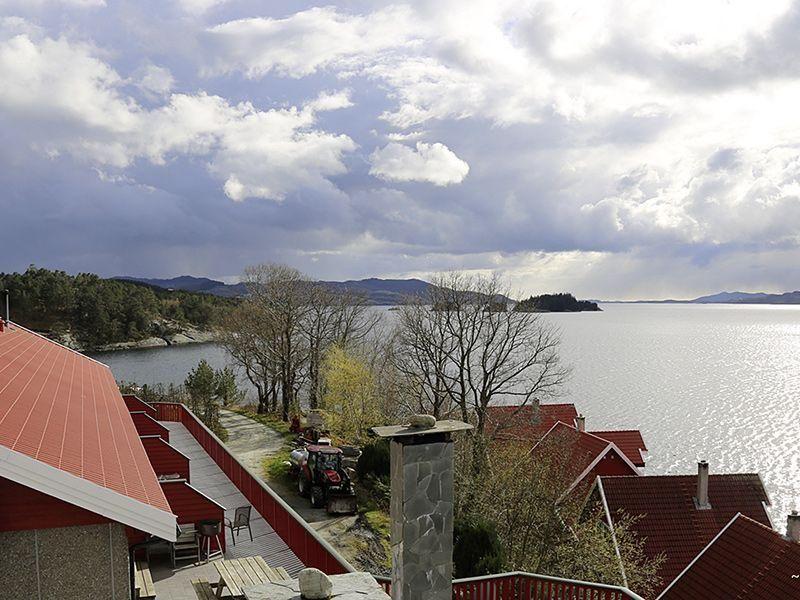 Angelreisen Norwegen 40554a+b Solvåg Fjordferie Aussicht