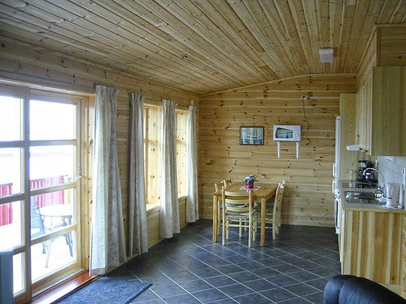 Angelreisen Norwegen 40554a+b Solvåg Fjordferie Küche+Essen