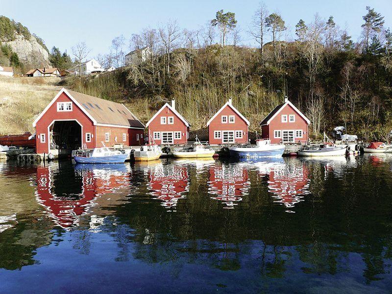 Angelreisen Norwegen 40555 Solvåg Fjordferie Ansicht