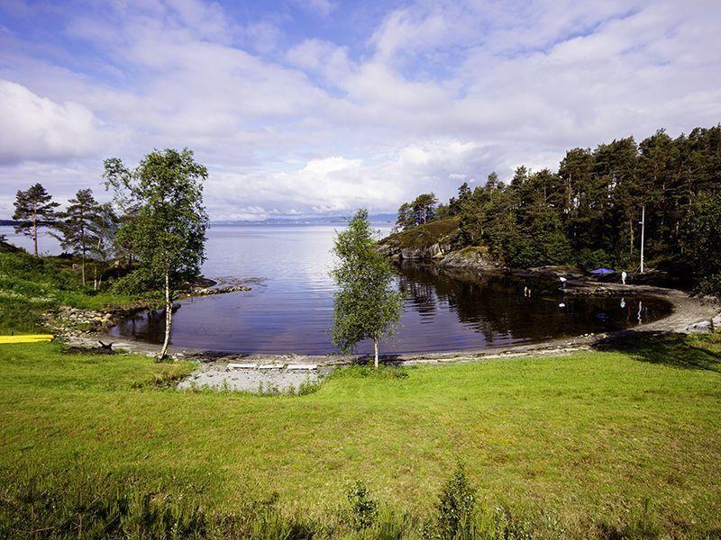 Angelreisen Norwegen 40911-40918 Halsnøy Badeplatz