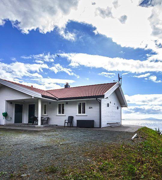 Angelreisen Norwegen 40911 Halsnøy Ansicht hinten