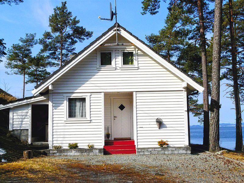 Angelreisen Norwegen 40912 Halsnøy Ansicht hinten