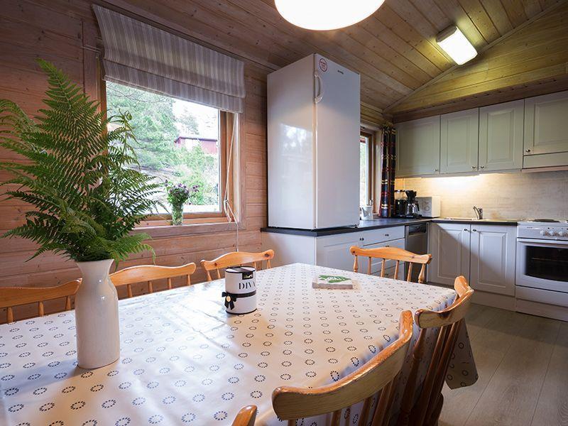 Angelreisen Norwegen 40913 Halsnøy Küche+Essen