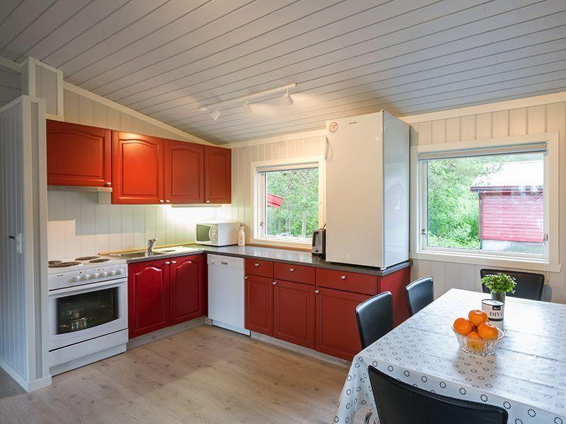 Angelreisen Norwegen 40916 Halsnøy Küche+Essen