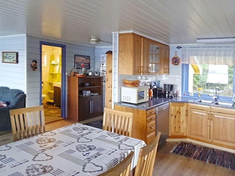 Angelreisen Norwegen 41040 Rolfsnes Küche+Essen