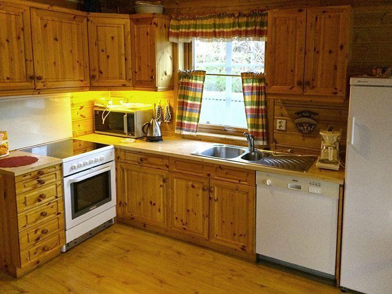 Angelreisen Norwegen 41351 Austgulen Fjordhytter Küche