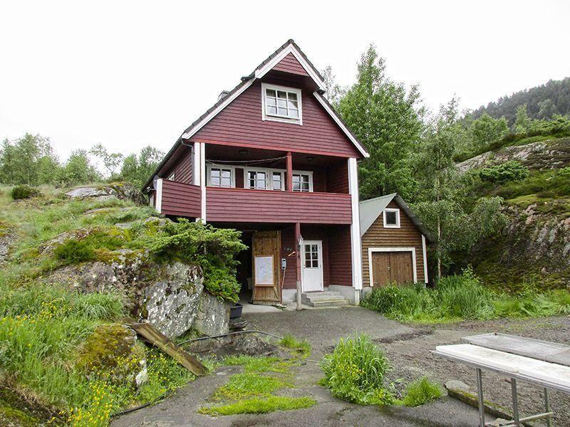 Angelreisen Norwegen 41351 Austgulen Fjordhytter Ansicht