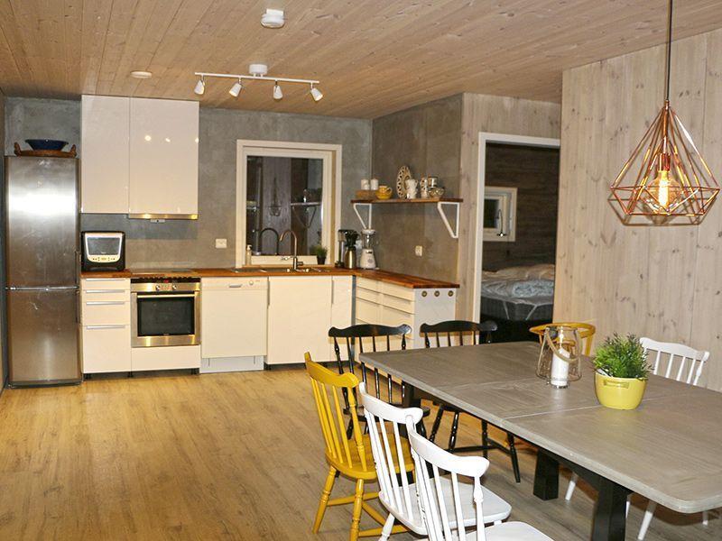 Angelreisen Norwegen 41330 Austefjord Küche