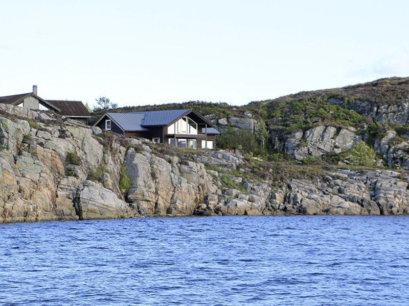 Angelreisen Norwegen 41330 Austefjord Panorama Überblick