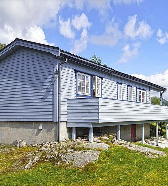 Angelreisen Norwegen 41353 Austgulen Fjordhytter Ansicht