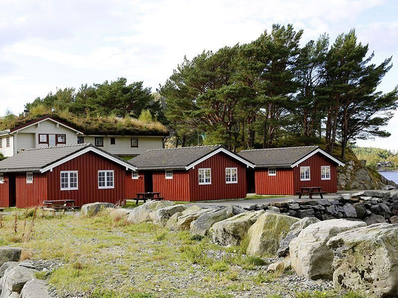 Angelreisen Norwegen 41491-493 Skottneset Feriesenter Ansicht vorn