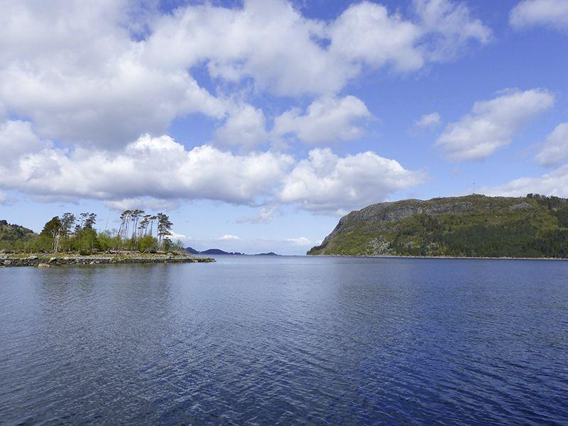 Angelreisen Norwegen 41491-510 Skottneset Feriesenter Landschaft