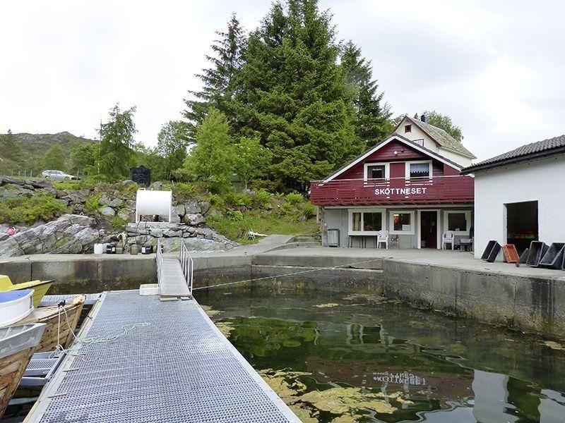 Angelreisen Norwegen 41494 Skottneset Feriesenter Ansicht