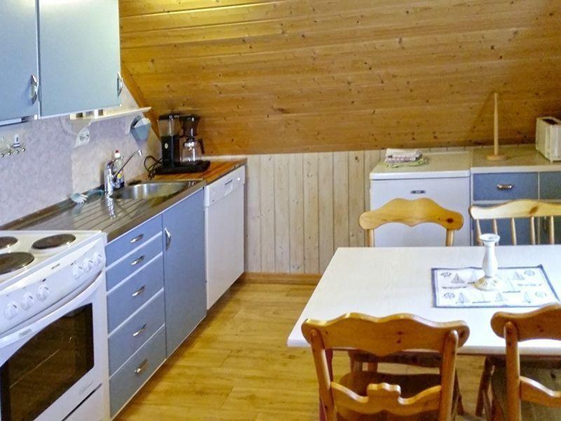 Angelreisen Norwegen 41551 Rugsund Küche, essen
