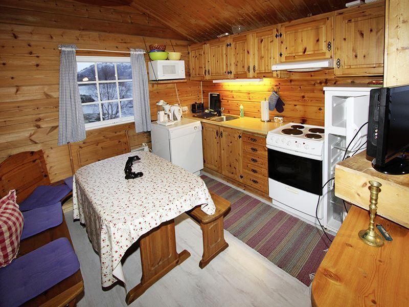 Angelreisen Norwegen 41631-632 Nipehyttene Küche
