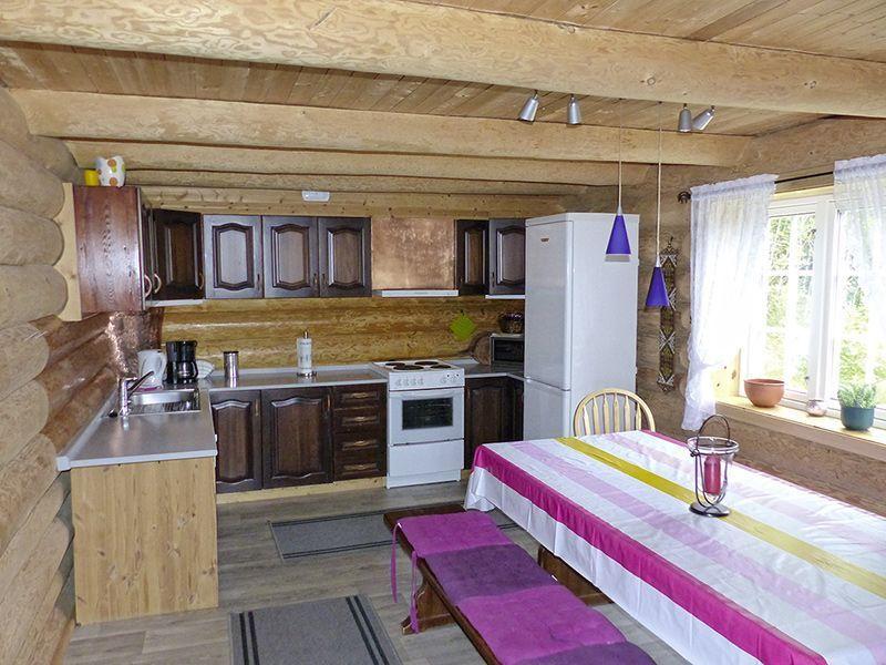 Angelreisen Norwegen 41633-634 Nipehyttene Küche