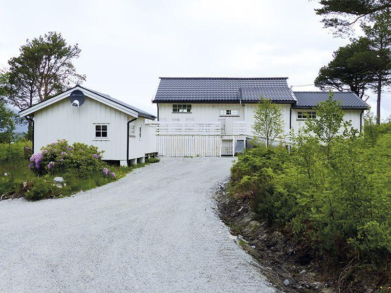 Angelreisen Norwegen 41775 Ferienhäuser Nerås hinten