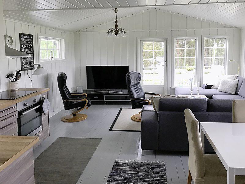 Angelreisen Norwegen 41775 Ferienhäuser Nerås wohnen1