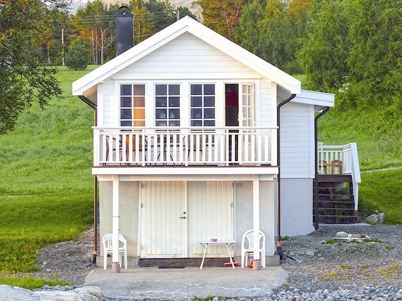 Angelreisen Norwegen 41772 Ferienhäuser Nerås Ansicht vorn