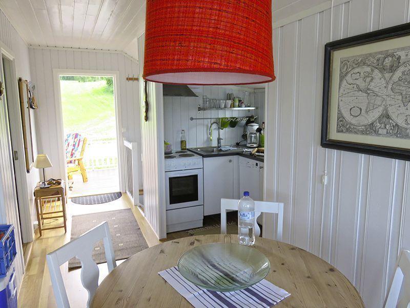 Angelreisen Norwegen 41772 Ferienhäuser Nerås Küche, Essen