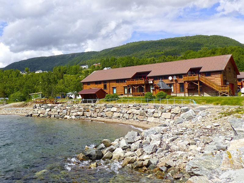 Angelreisen Norwegen 41881-883 Eriks Viking Lodge Ansicht2