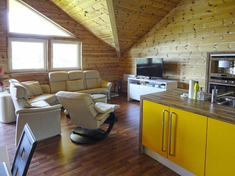 Angelreisen Norwegen 41883 Eriks Viking Lodge Küche, Wohnen