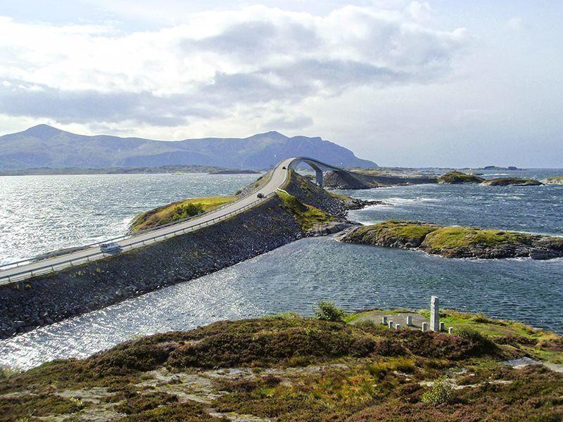 Angelreisen Norwegen 41901-908 Atlanterhavsveien Sjøstuer Atlantikstraße