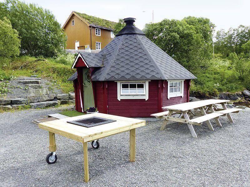Angelreisen Norwegen 41901-41908 Atlanterhavsveien Sjøstuer Grillhütte