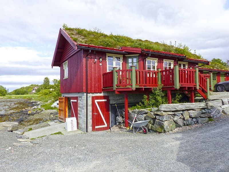 Angelreisen Norwegen 41907-41908 Atlanterhavsveien Sjøstuer Ansicht