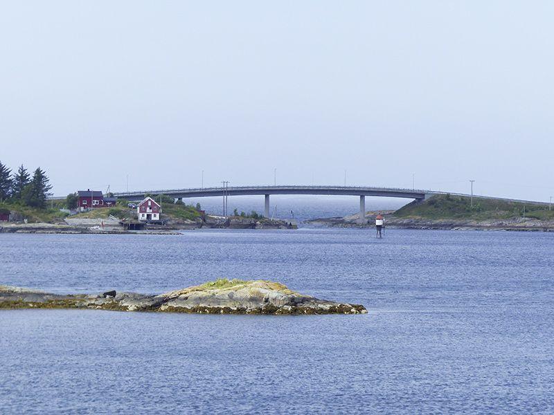 Angelreisen Norwegen 41911-912 Bergtun Hytter Aussicht