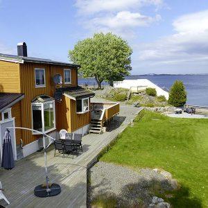 Angelreisen Norwegen 41911 Bergtun Hytter Ansicht
