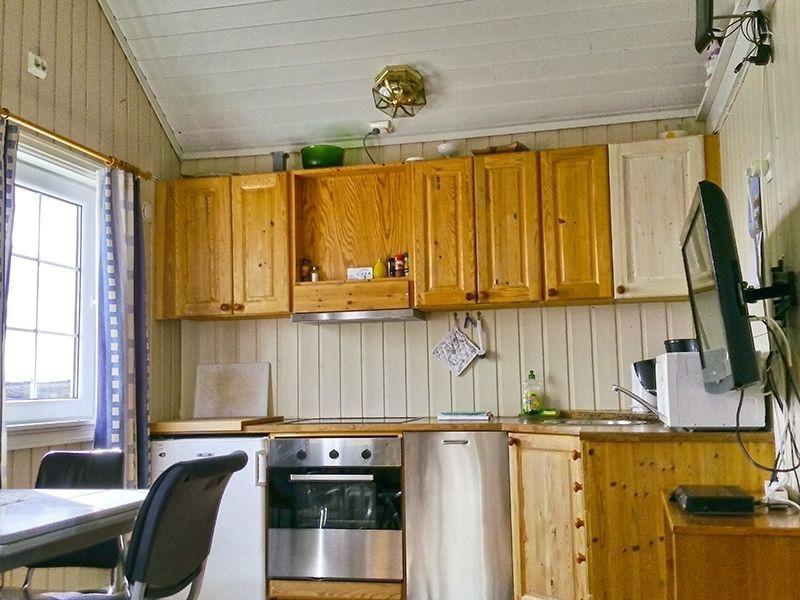Angelreisen Norwegen 41921-922 Betten Rorbuer Küche