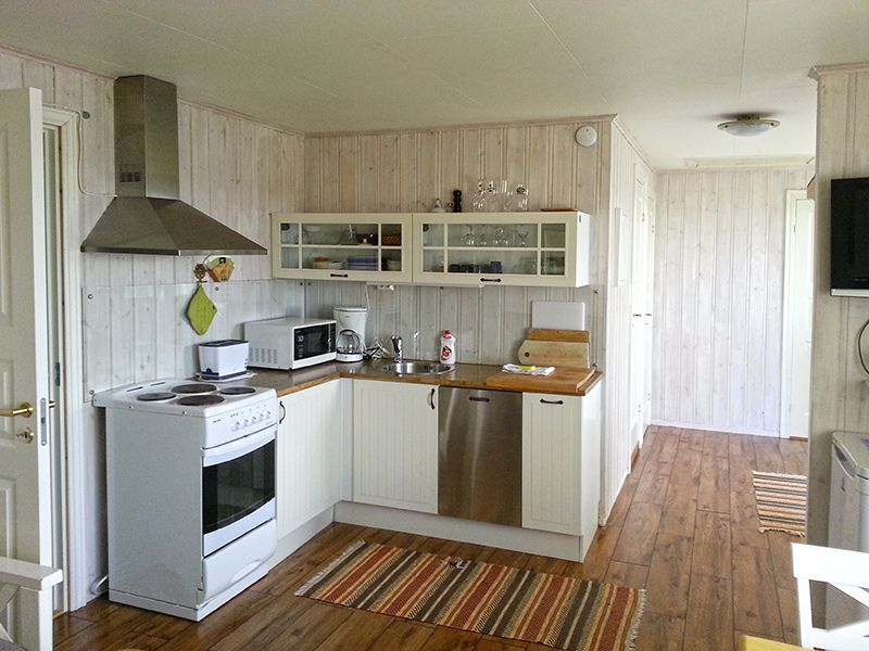 Angelreisen Norwegen 41926 Betten Rorbuer Küche
