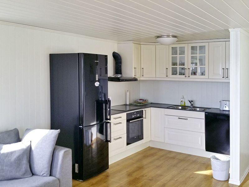 Angelreisen Norwegen 41927-928 Betten Rorbuer Küche