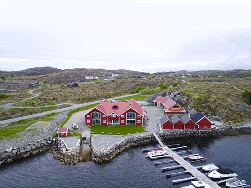 Angelreisen Norwegen 42035-039 Kjevikan Sjøferie Luftbild1