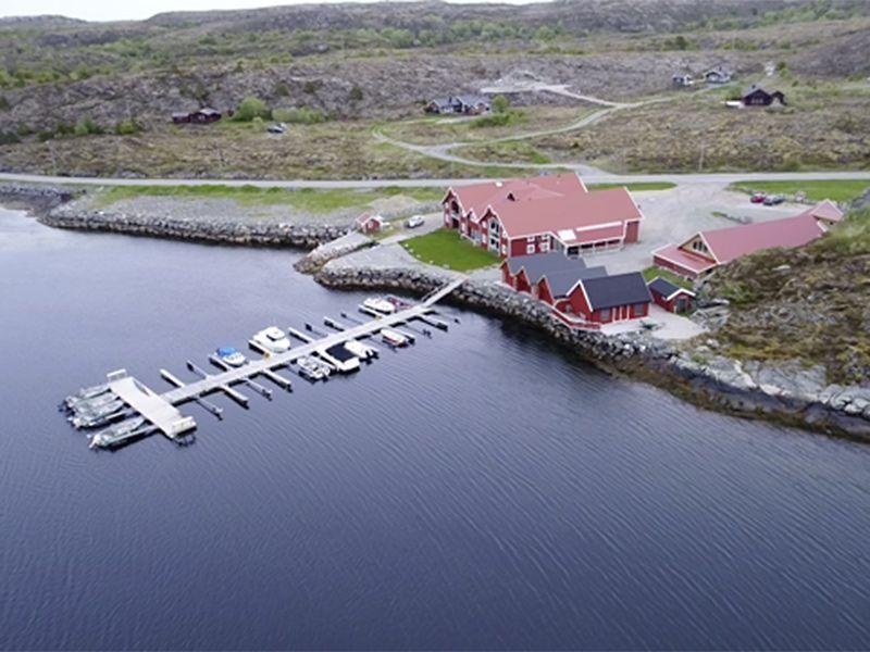 Angelreisen Norwegen 42034-42039 Kjevikan Sjøferie Luftbild