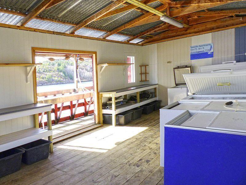 Angelreisen Norwegen 42041-42045 Seaside Apartments Filetierhaus