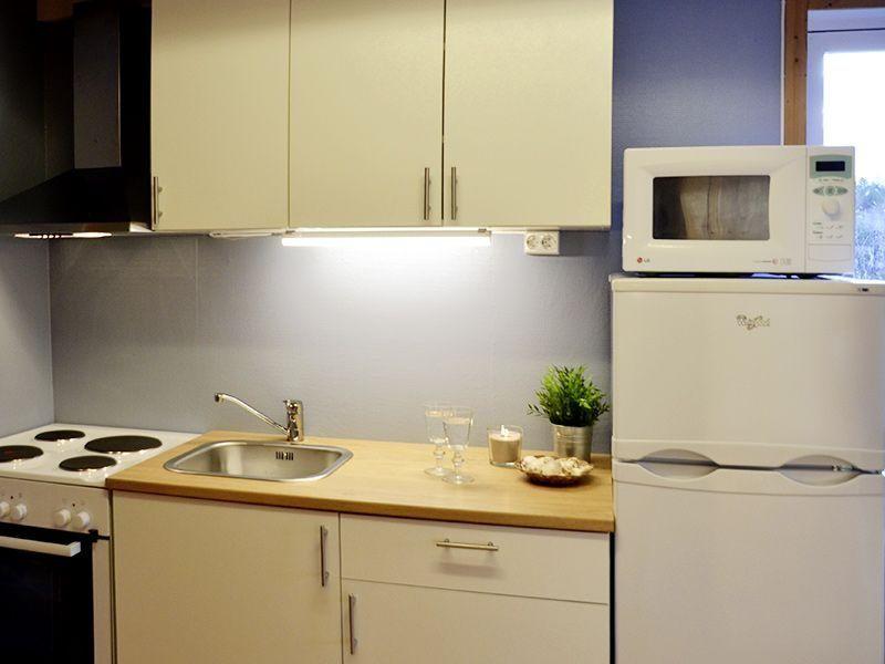 Angelreisen Norwegen 42041-42045 Seaside Apartments Küche