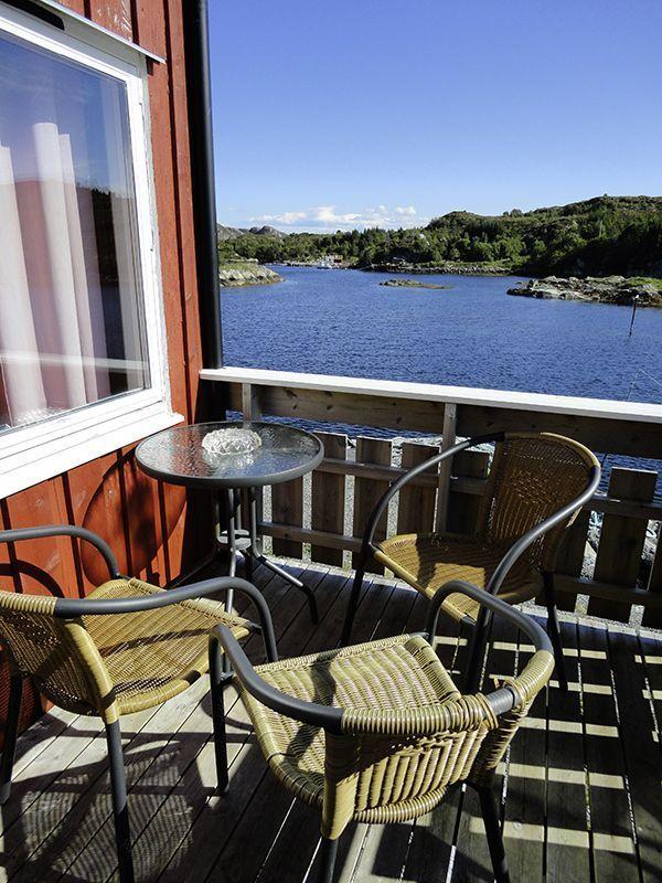 Angelreisen Norwegen 42041-42045 Seaside Apartments Terrasse