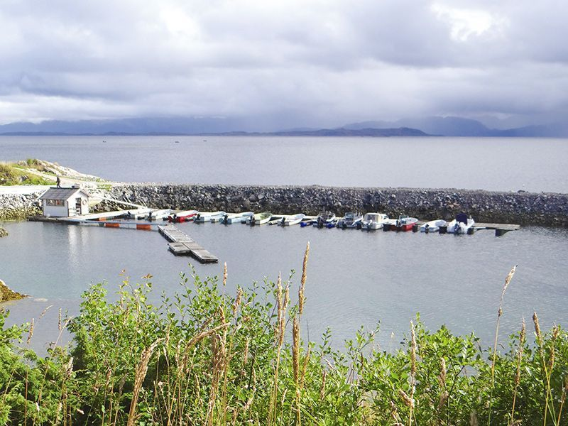 Angelreisen Norwegen 42051-054 Fjellvær Hafen