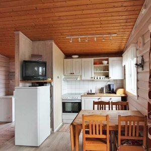 Angelreisen Norwegen 42054 Fjellvær Küche