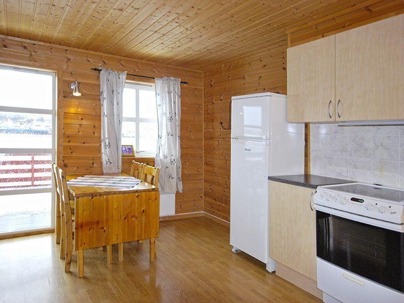 Angelreisen Norwegen 42091-093 Stadsvik Brygger Küche, essen