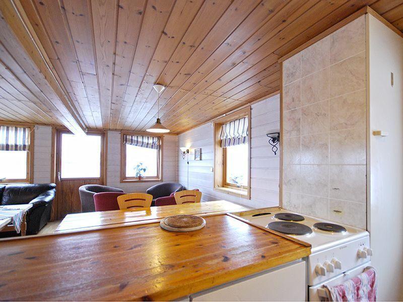 Angelreisen Norwegen 42130 Stadsvik Brygger Küche + Wohnen