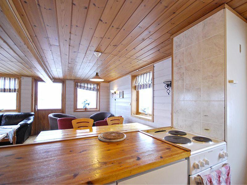 Angelreisen Norwegen 42130 Stadsvik Brygger Küche, wohnen